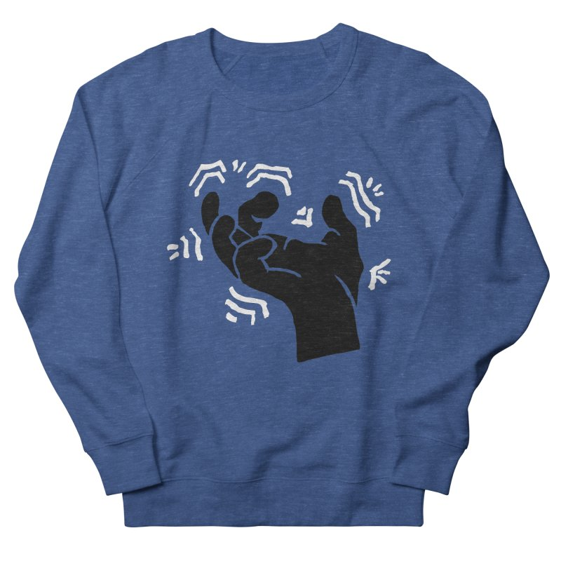 Savage Hand B/W Women's Sweatshirt by The Martial Arts Academy's Store