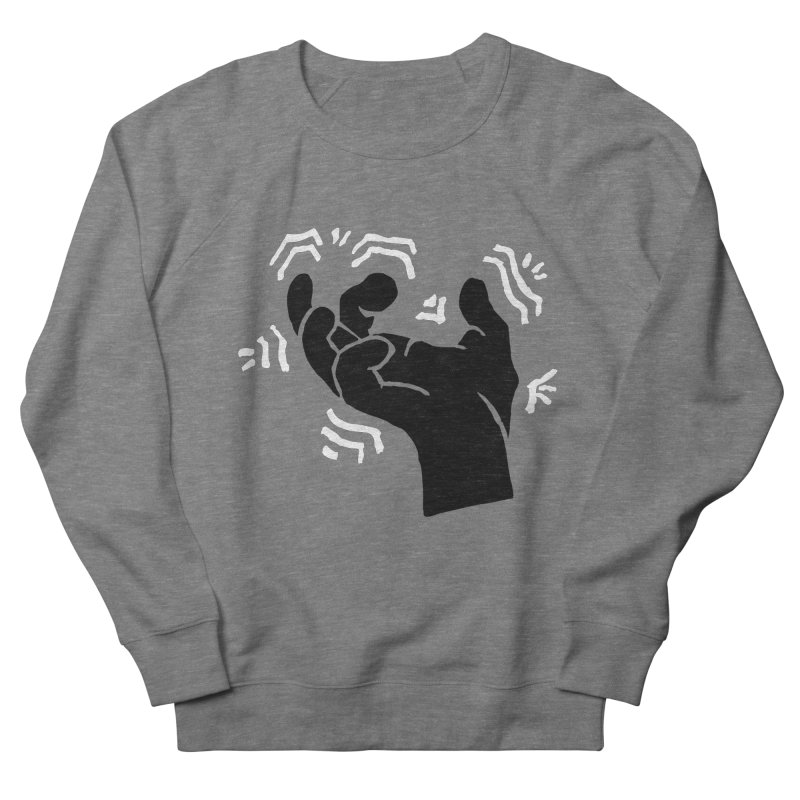 Savage Hand B/W Men's Sweatshirt by The Martial Arts Academy's Store