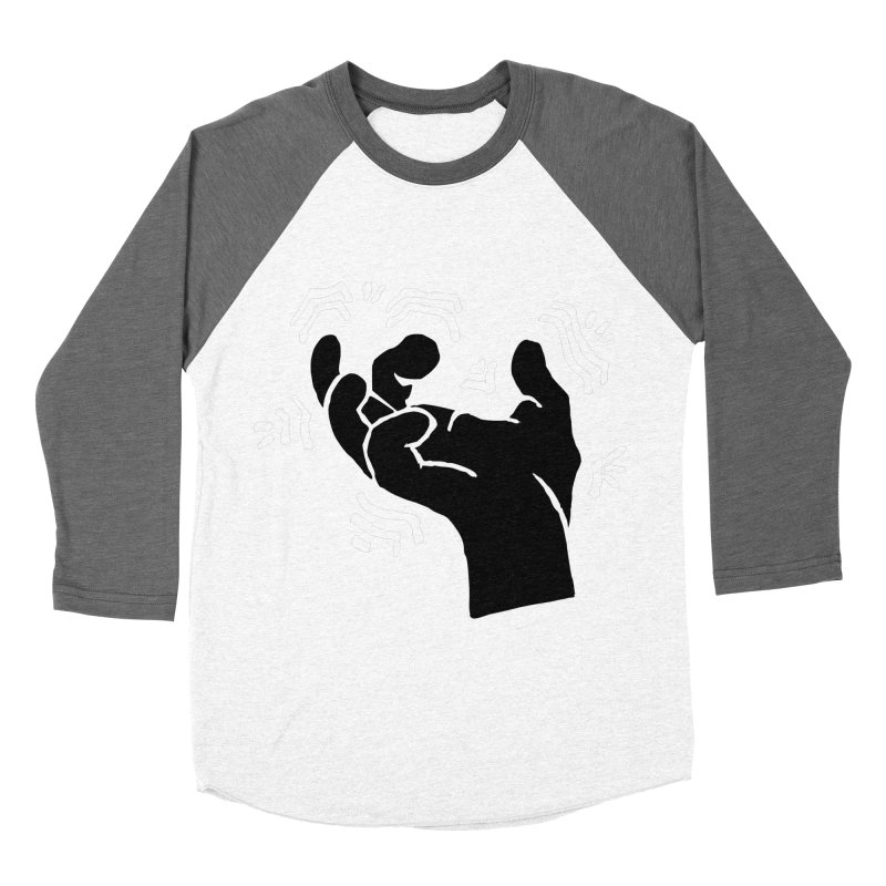 Savage Hand B/W Women's Baseball Triblend Longsleeve T-Shirt by The Martial Arts Academy's Store