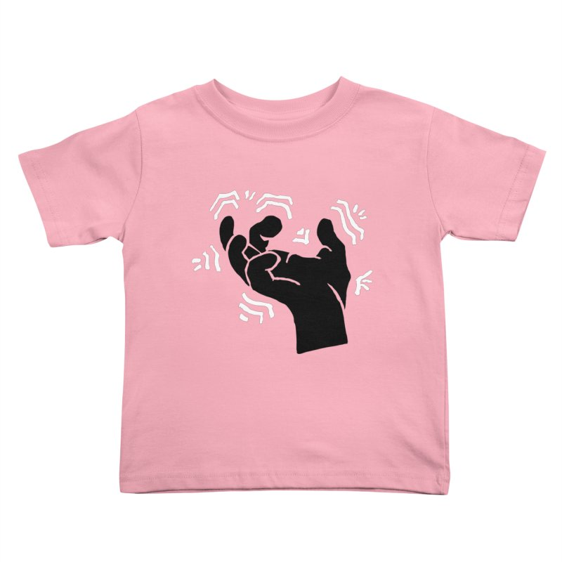 Savage Hand B/W Kids Toddler T-Shirt by The Martial Arts Academy's Store