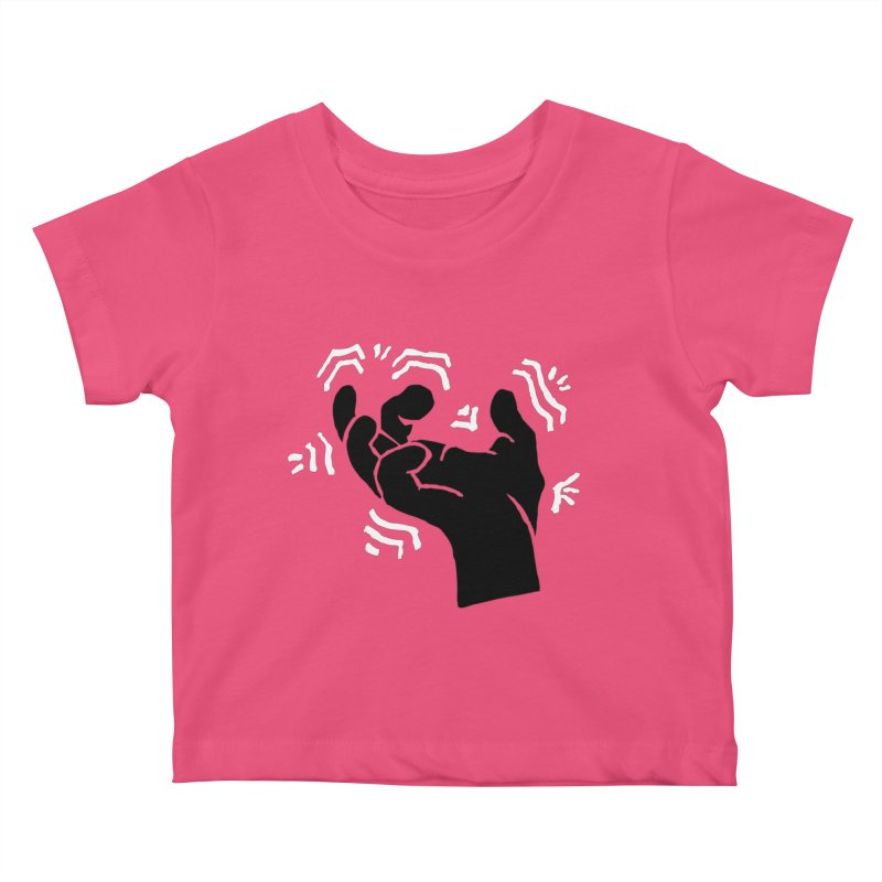 Savage Hand B/W Kids Baby T-Shirt by The Martial Arts Academy's Store