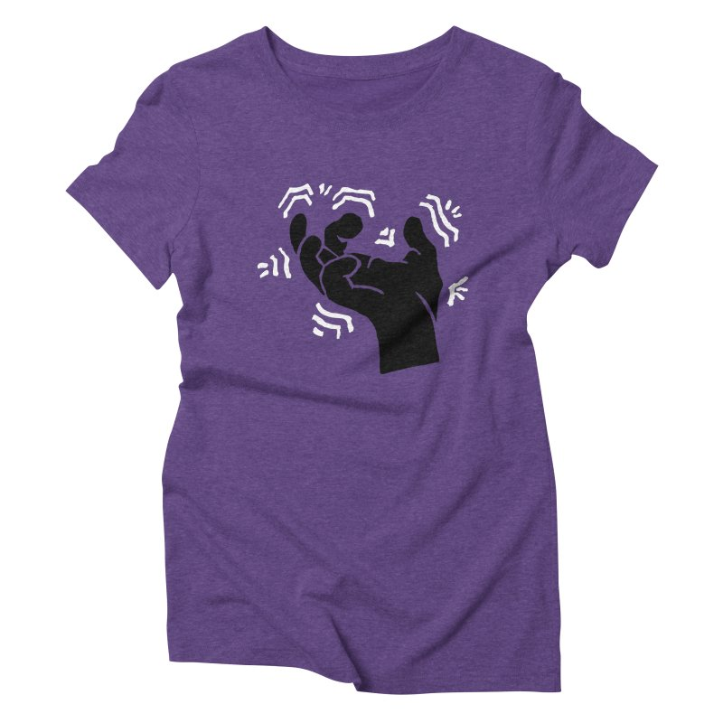 Savage Hand B/W Women's T-Shirt by The Martial Arts Academy's Store