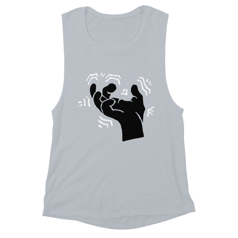 Savage Hand B/W Women's Muscle Tank by The Martial Arts Academy's Store