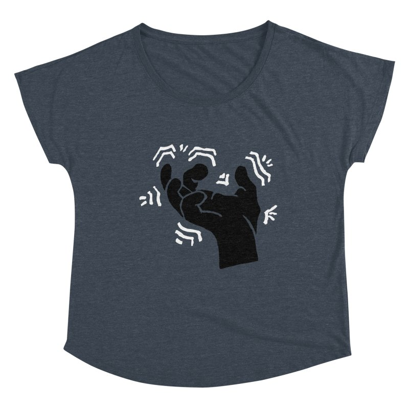Savage Hand B/W Women's Scoop Neck by The Martial Arts Academy's Store