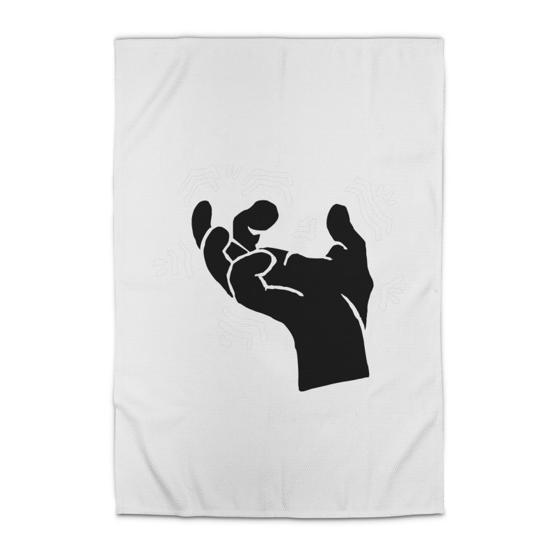 Savage Hand B/W Home Rug by The Martial Arts Academy's Store