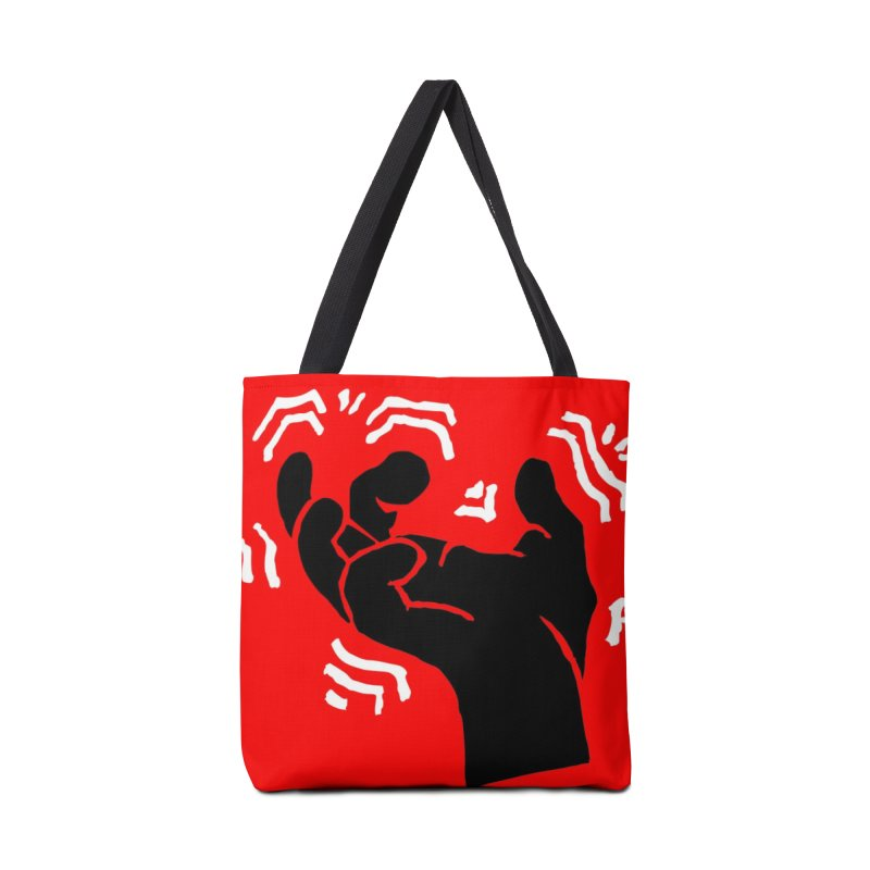 Savage Hand B/W Accessories Tote Bag Bag by The Martial Arts Academy's Store