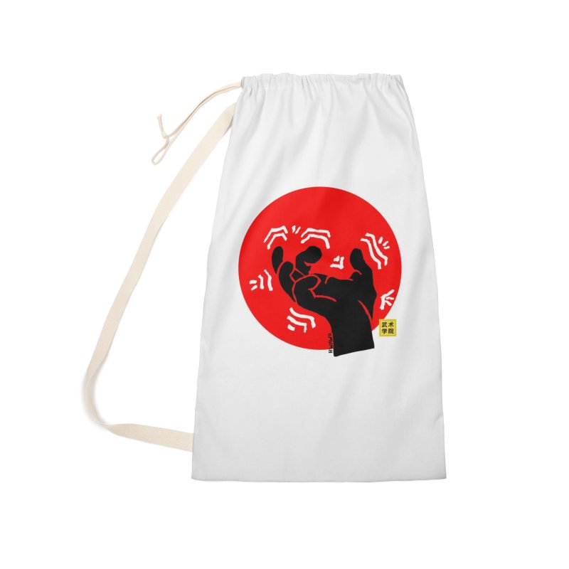 Savage Hand w Sun, black Accessories Laundry Bag Bag by The Martial Arts Academy's Store