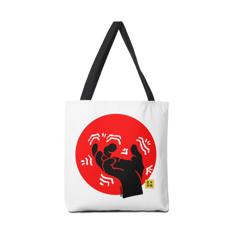 Savage Hand w Sun, black Accessories Bag by The Martial Arts Academy's Store