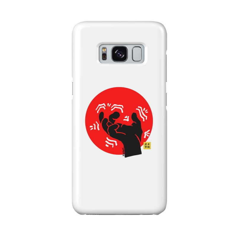 Savage Hand w Sun, black Accessories Phone Case by The Martial Arts Academy's Store