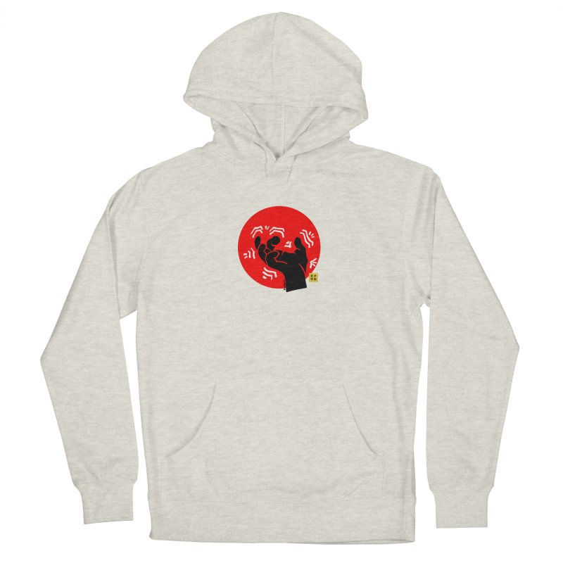 Savage Hand w Sun, black Men's Pullover Hoody by The Martial Arts Academy's Store