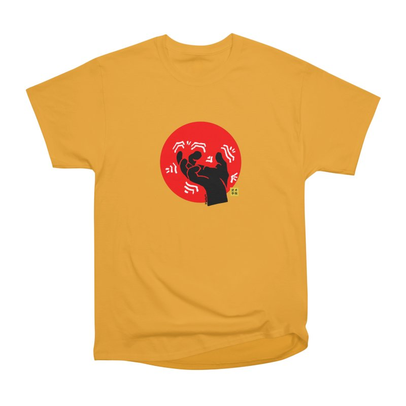 Savage Hand w Sun, black Men's Heavyweight T-Shirt by The Martial Arts Academy's Store