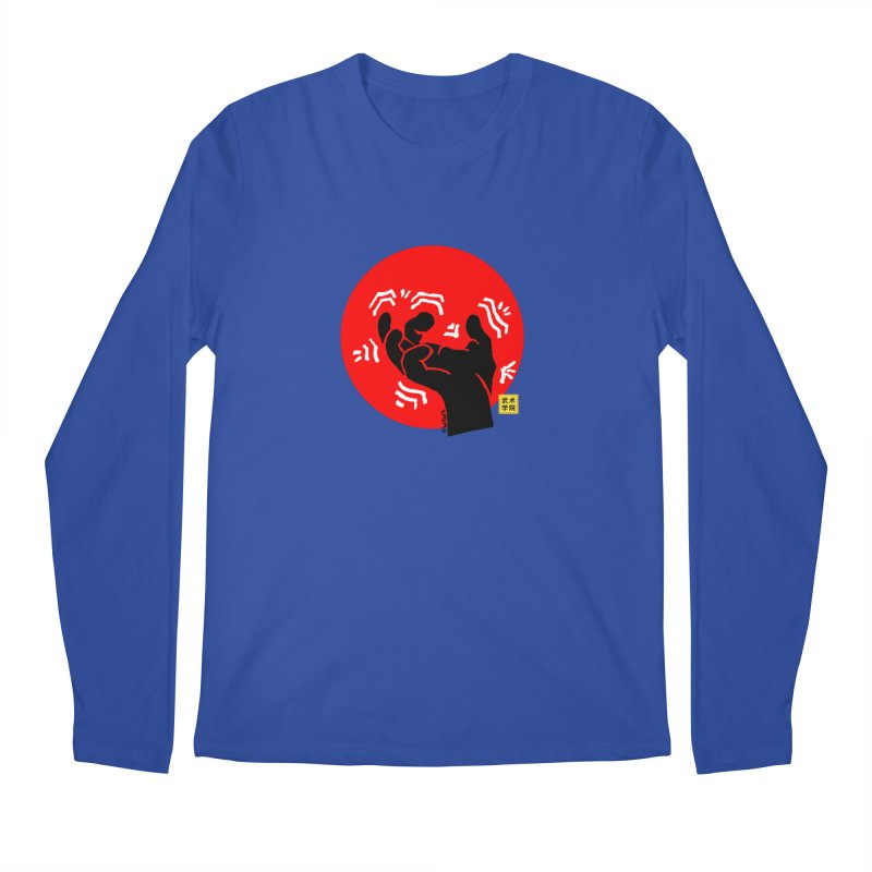 Savage Hand w Sun, black Men's Longsleeve T-Shirt by The Martial Arts Academy's Store