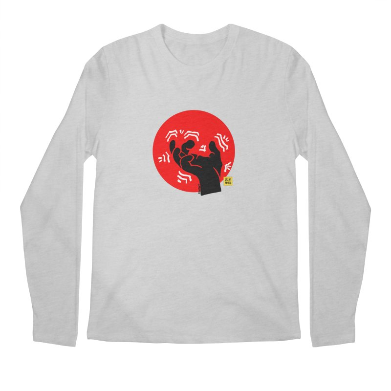 Savage Hand w Sun, black Men's Regular Longsleeve T-Shirt by The Martial Arts Academy's Store