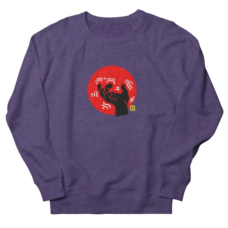 Savage Hand w Sun, black Women's French Terry Sweatshirt by The Martial Arts Academy's Store