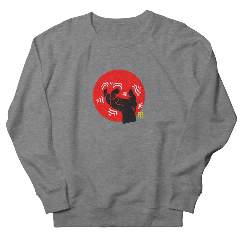 Savage Hand w Sun, black Men's Sweatshirt by The Martial Arts Academy's Store