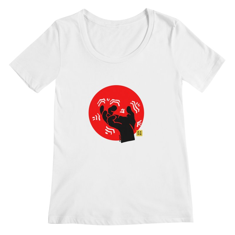 Savage Hand w Sun, black Women's Regular Scoop Neck by The Martial Arts Academy's Store