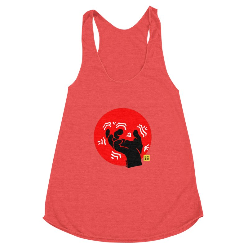 Savage Hand w Sun, black Women's Tank by The Martial Arts Academy's Store