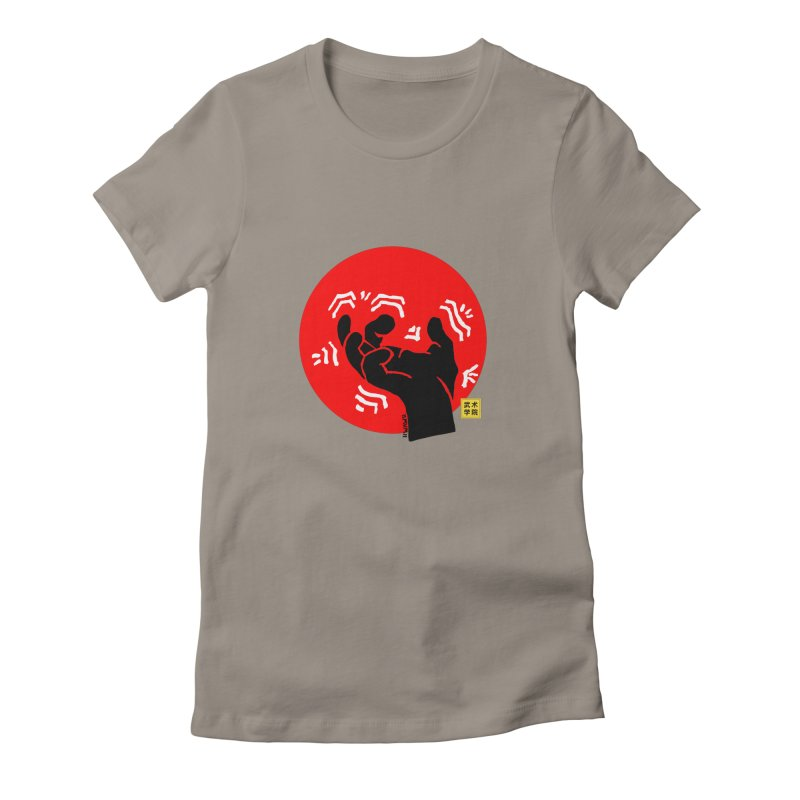 Savage Hand w Sun, black Women's T-Shirt by The Martial Arts Academy's Store