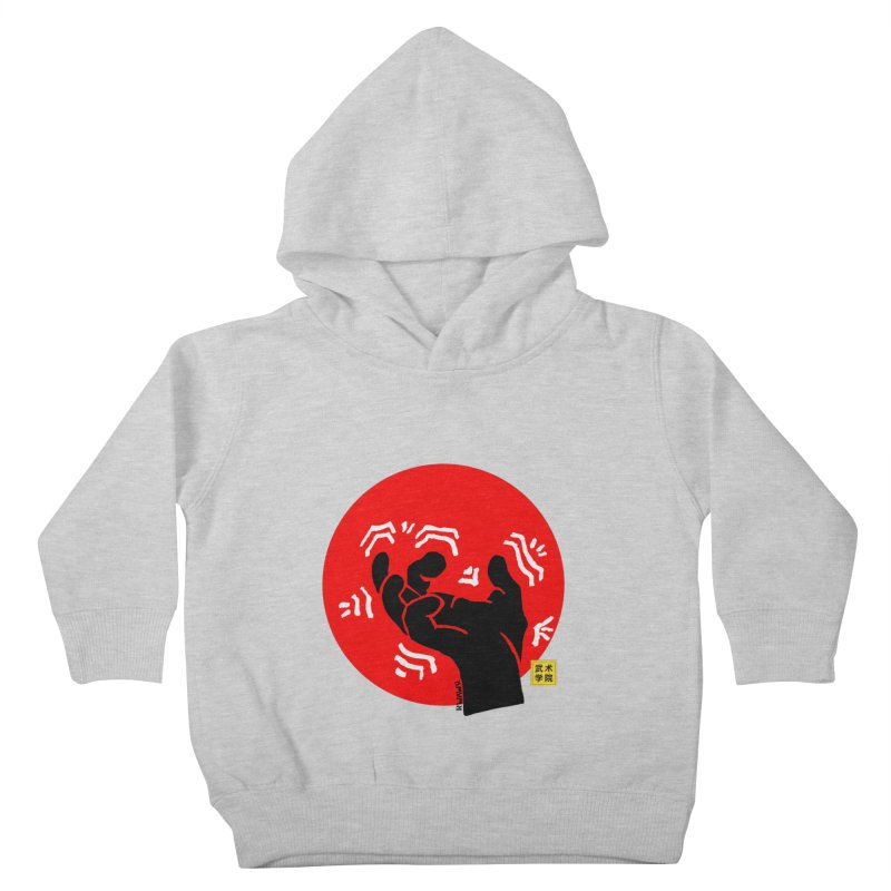 Savage Hand w Sun, black Kids Toddler Pullover Hoody by The Martial Arts Academy's Store