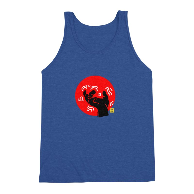 Savage Hand w Sun, black Men's Triblend Tank by The Martial Arts Academy's Store