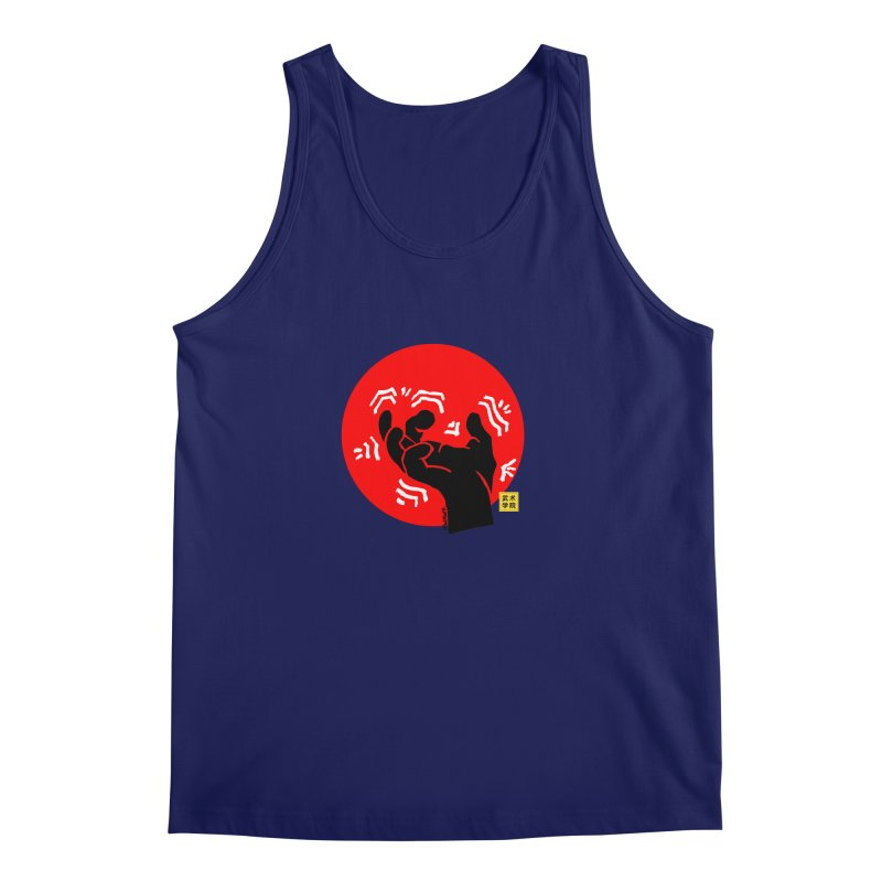 Savage Hand w Sun, black Men's Regular Tank by The Martial Arts Academy's Store