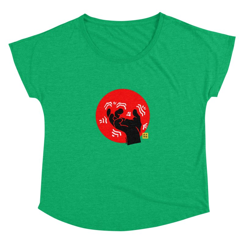 Savage Hand w Sun, black Women's Scoop Neck by The Martial Arts Academy's Store