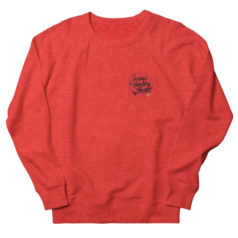 Savage Hand, Script Men's Sweatshirt by The Martial Arts Academy's Store