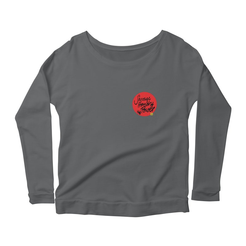 Savage Hand, Script Women's Longsleeve T-Shirt by The Martial Arts Academy's Store