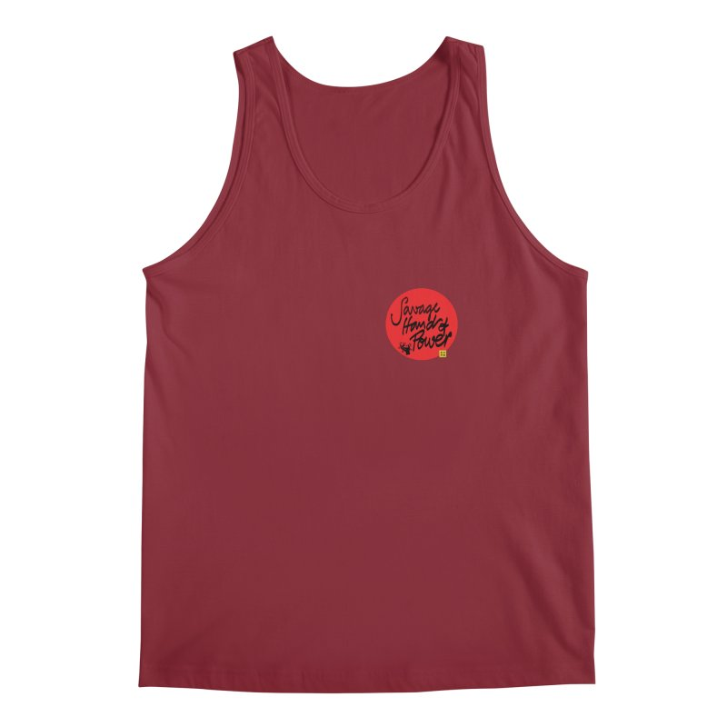 Savage Hand, Script Men's Tank by The Martial Arts Academy's Store