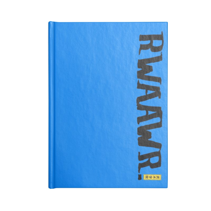 RWAAWR Accessories Lined Journal Notebook by The Martial Arts Academy's Store