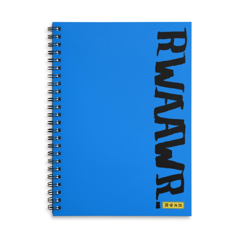 RWAAWR Accessories Lined Spiral Notebook by The Martial Arts Academy's Store