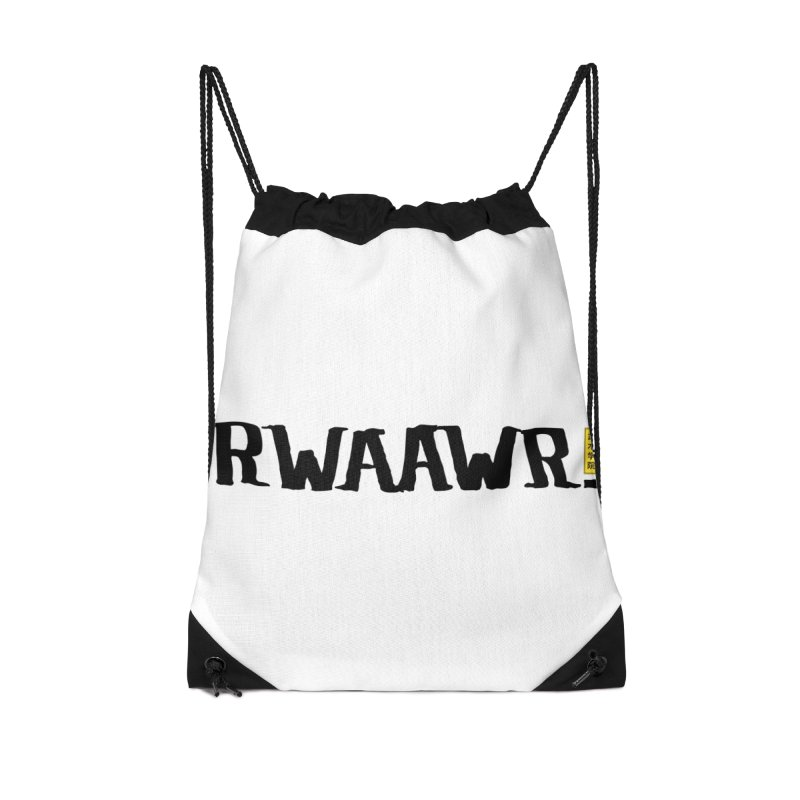 RWAAWR Accessories Drawstring Bag Bag by The Martial Arts Academy's Store