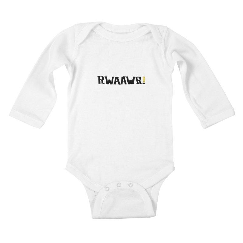 RWAAWR Kids Baby Longsleeve Bodysuit by The Martial Arts Academy's Store