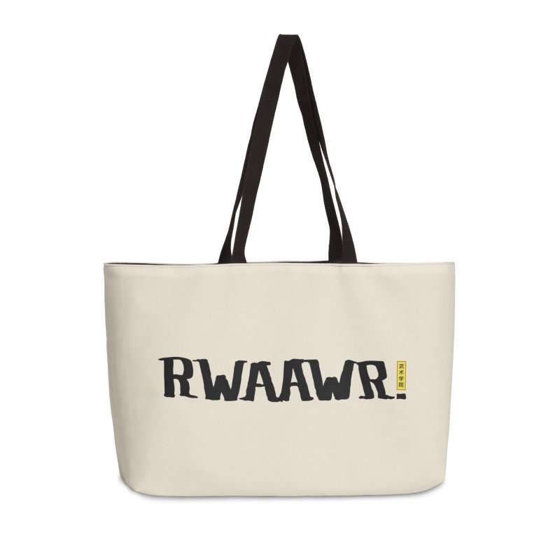 RWAAWR Accessories Weekender Bag Bag by The Martial Arts Academy's Store