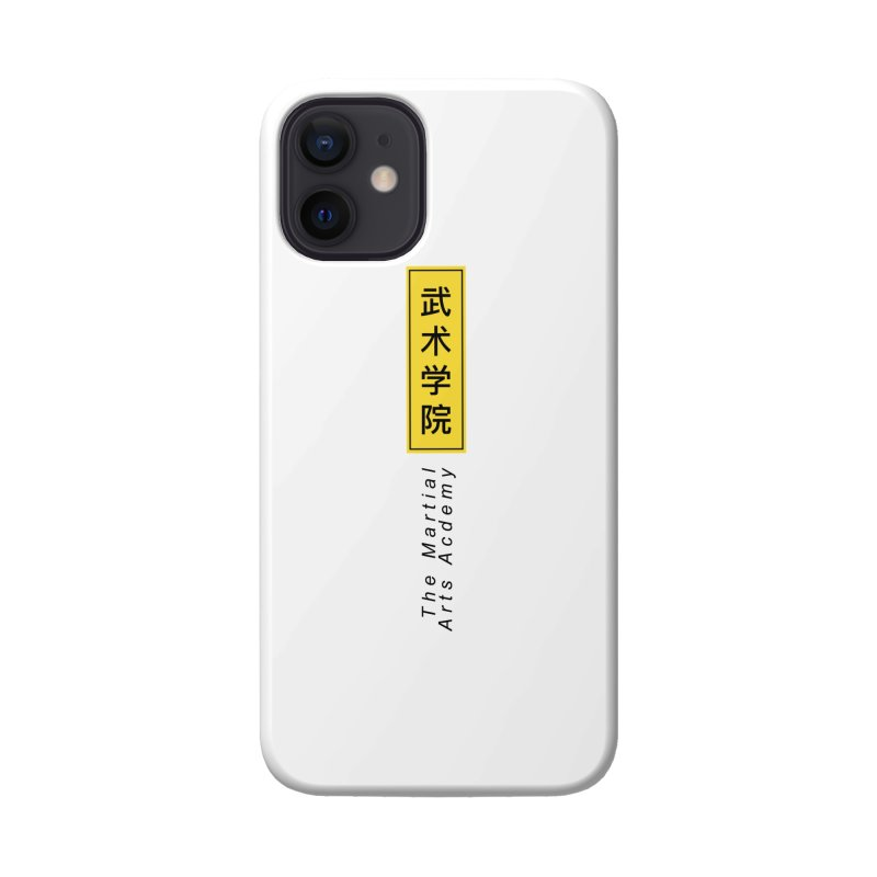 Logo Vertical Accessories Phone Case by The Martial Arts Academy's Store