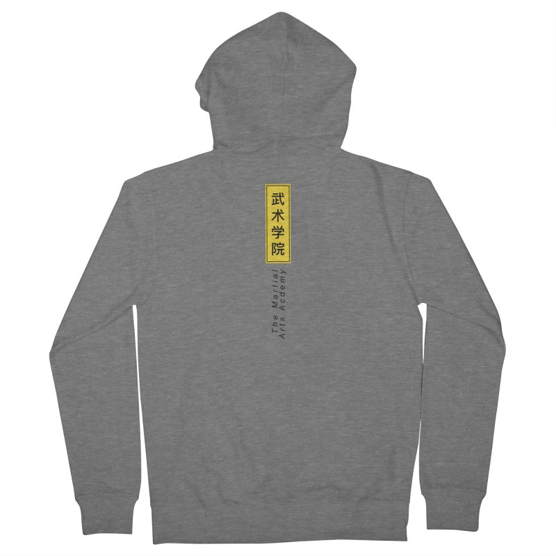 Logo Vertical Women's Zip-Up Hoody by The Martial Arts Academy's Store