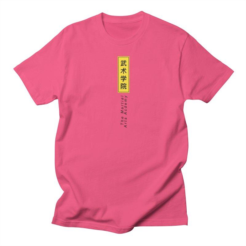 Logo Vertical Women's Regular Unisex T-Shirt by The Martial Arts Academy's Store