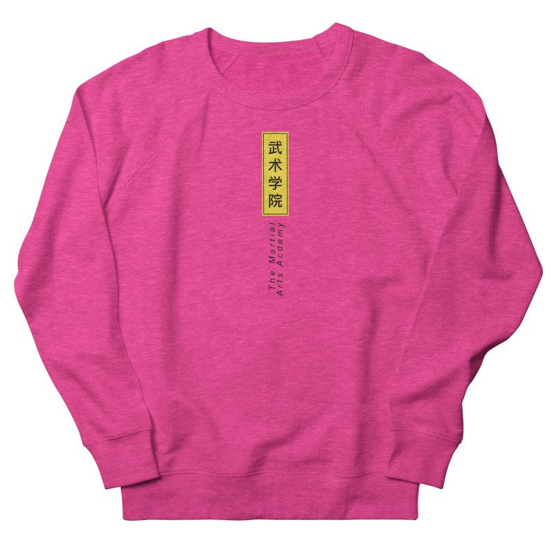 Logo Vertical Women's Sweatshirt by The Martial Arts Academy's Store