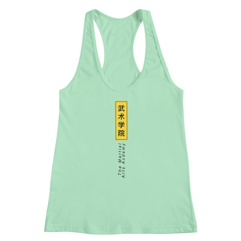 Logo Vertical Women's Tank by The Martial Arts Academy's Store
