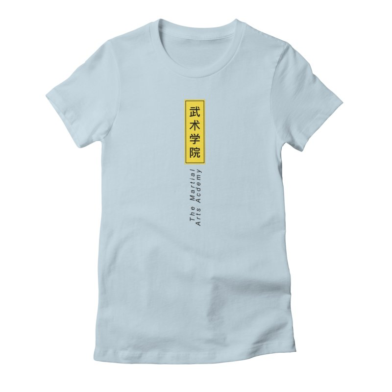 Logo Vertical Women's T-Shirt by The Martial Arts Academy's Store