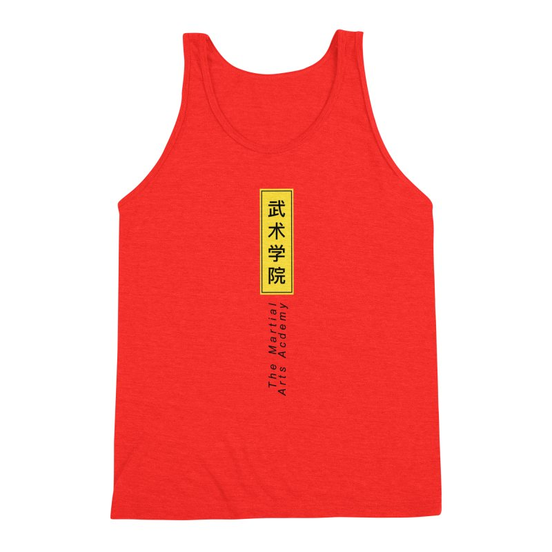 Logo Vertical Men's Tank by The Martial Arts Academy's Store