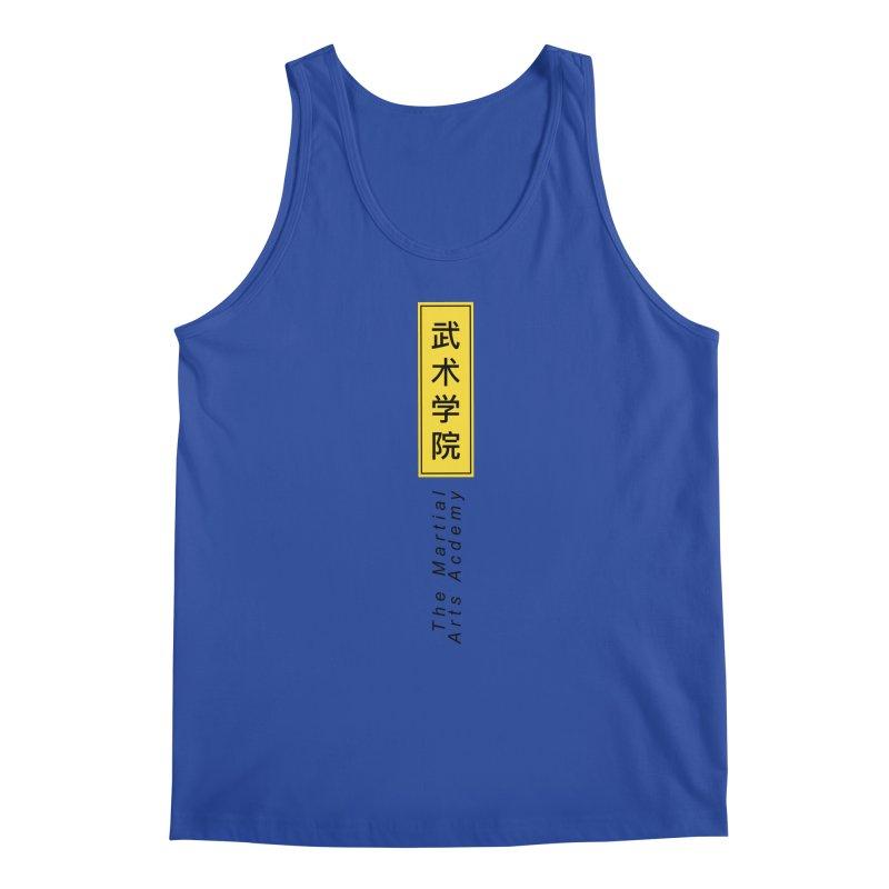 Logo Vertical Men's Regular Tank by The Martial Arts Academy's Store