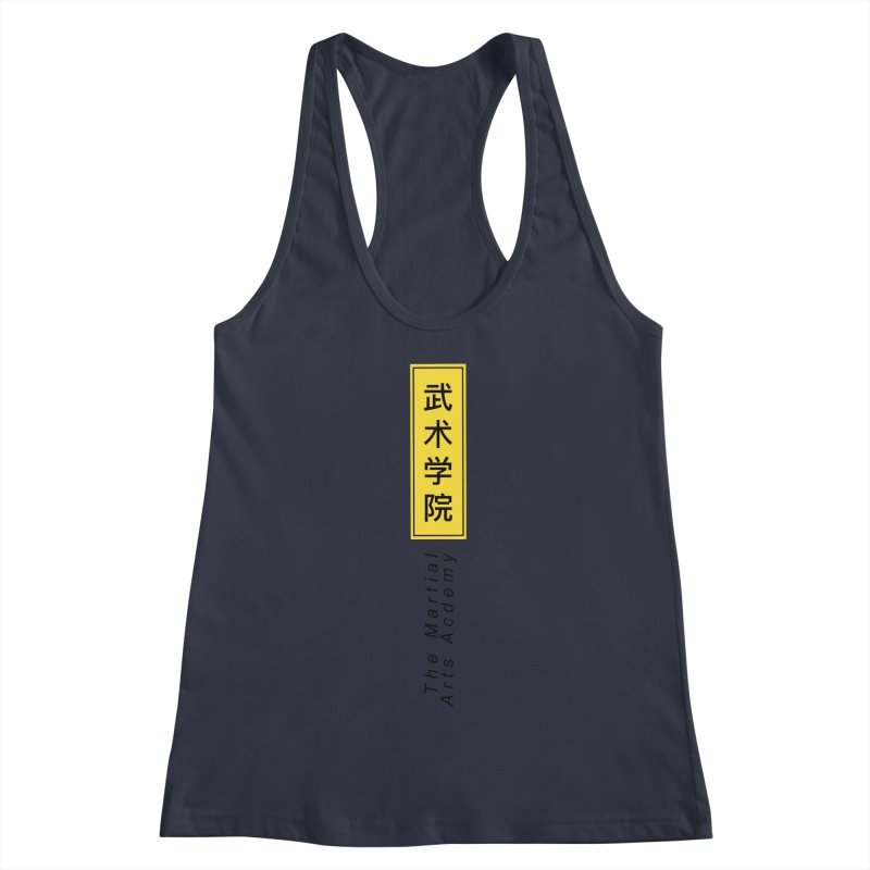 Logo Vertical Women's Racerback Tank by The Martial Arts Academy's Store