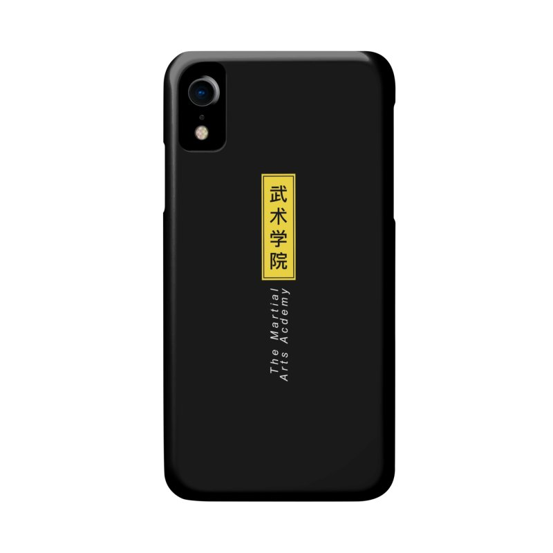 Logo Vert, white Accessories Phone Case by The Martial Arts Academy's Store