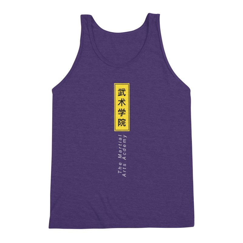 Logo Vert, white Men's Tank by The Martial Arts Academy's Store