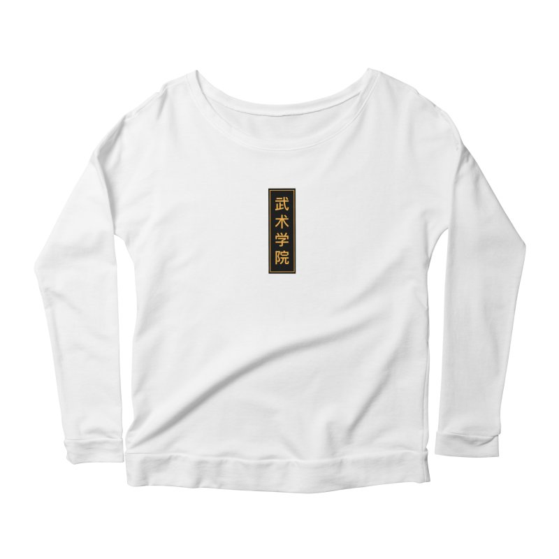 Vert Logo, reversed Women's Longsleeve T-Shirt by The Martial Arts Academy's Store