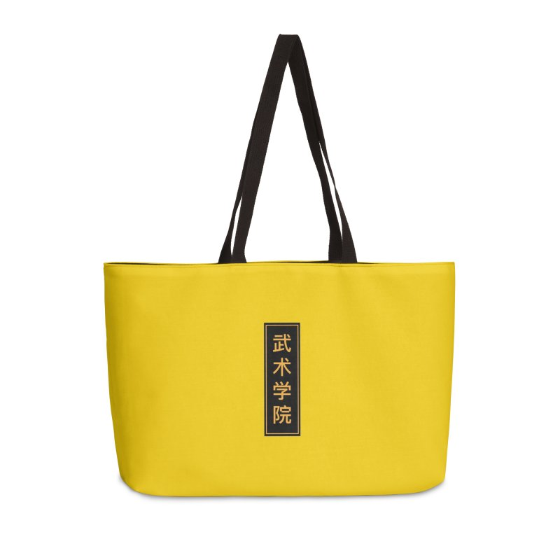 Vert Logo, reversed Accessories Weekender Bag Bag by The Martial Arts Academy's Store