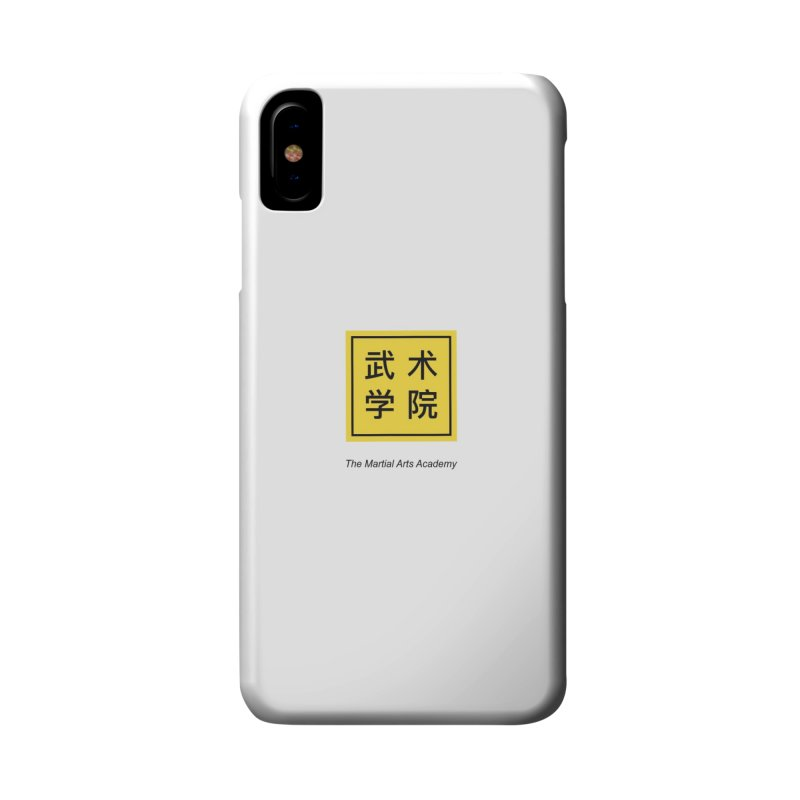 LogoSquare Black Type Accessories Phone Case by The Martial Arts Academy's Store