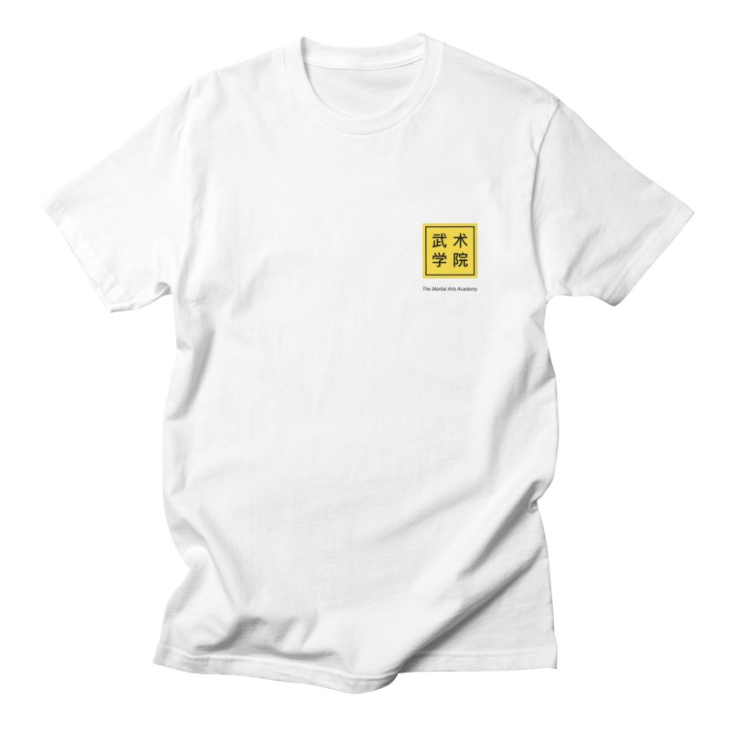 LogoSquare Black Type Men's T-Shirt by The Martial Arts Academy's Store