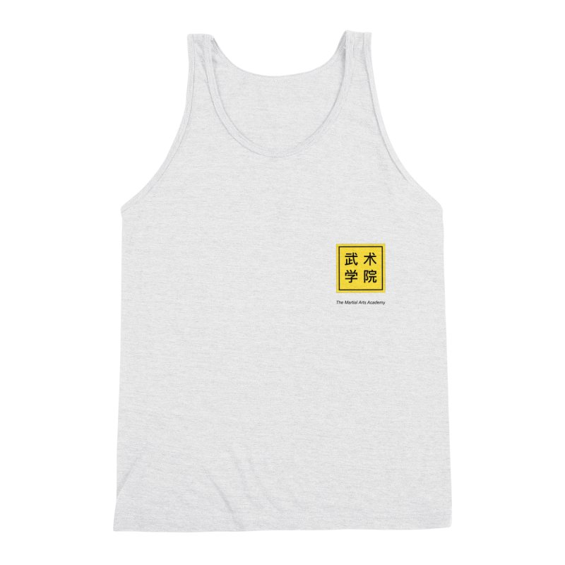 LogoSquare Black Type Men's Tank by The Martial Arts Academy's Store